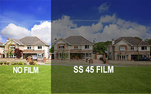 SS 45 Window Film - Exterior View
